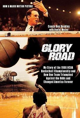 Glory Road: My Story of the 1966 NCAA Basketball Championship and How-ExLibrary