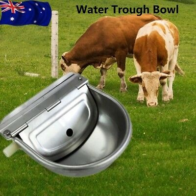 Automatic Float Valve Water Trough Bowl for Horse Cow Dog Sheep Chicken Drinking