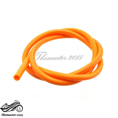 Orange Motorcycle Fuel Line Hose Tube For ATV Quad Buggy Pit Dirt Bike Mini Moto