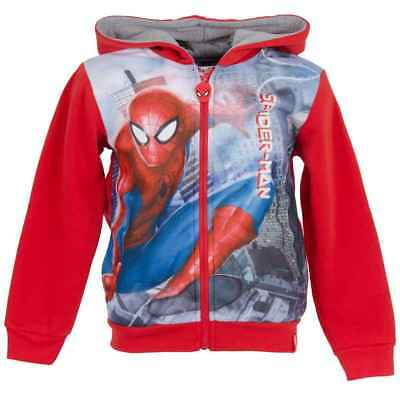 Boys Spiderman Blaze and the Monster Machines Zipped Hooded Jumper Jacket Age3-8