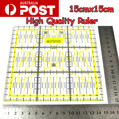 Quilting Sewing Patchwork Transparent Rulers Plastic Template DIY Sewing Tools