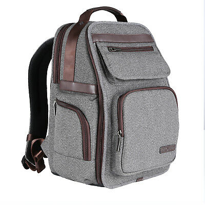 K&F Concept Camera Backpack Bag Photo Bag Laptop Backpack Case Waterproof gray