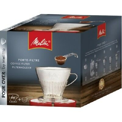 Melitta Pour Over Coffee Filter Holder + Spoon 1 X 4 2 Cups At Same Time 6761021