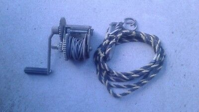 A Brooker boat winch and tow hitch- great usable condition