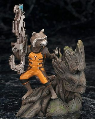 Guardians of The Galaxy Vol. 2 Baby Groot Figure Rocket Raccoon With Box Gift