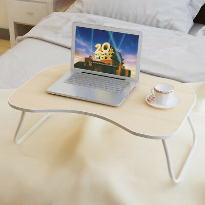 Folding Laptop Desk Laptop Table for Bed Portable Lap Desk Table Notebook Table