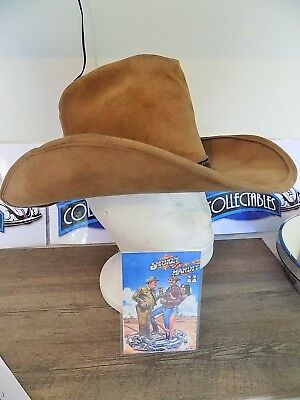 """Genuin Smokey and the Bandit  """"Movie Bandit Hat"""" by stetson Hat company USA"""