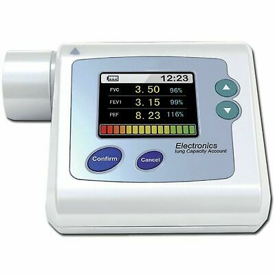 Contec SP10 Digital Electronic Spirometer + Memory + Software CE Clinic or Home