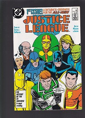 Justice League #1 Brand New Post Crisis Team Starts Up!