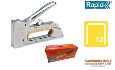 Rapid R23E Hand Staple Tacker With 1 Box 13/06 Staples Foc