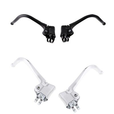 2x Mountain Bike Bicycle Aluminum Alloy Brake Levers Handlebar Brake 22-24mm