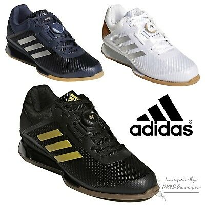 promo code 555e1 fad5e adidas Leistung 16 II Mens Pro Weightlifting Shoes Black Gym Trainers  CQ1769