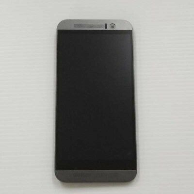 glass touch screen original HTC One M9 grey slide screen display frame LCD