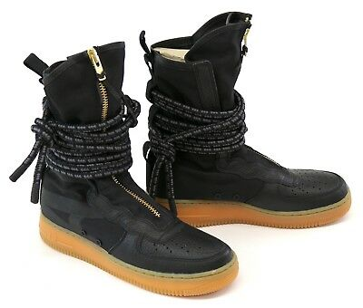 new product a2280 fdb2b Nike SF AF1 Air Force 1 Special Field High-Top Men s Rattan Boots Trainers  UK