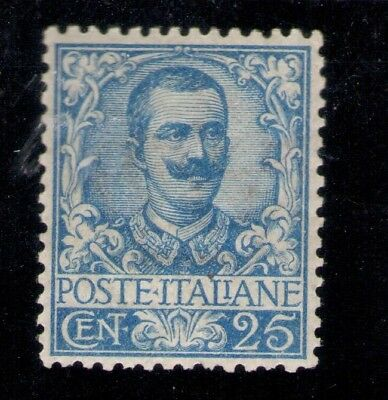 1901 Kingdom Italy Floral 25 cent Centratissimo signed in MNH N73 Cert Cilio