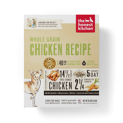 The Honest Kitchen Revel Whole Grain Chicken Dry Dog Food