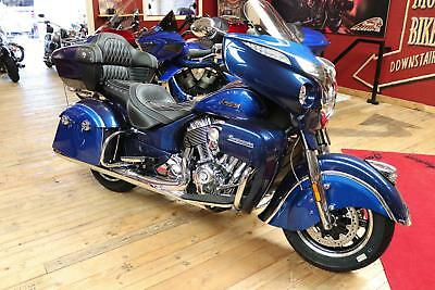 Ex-Demo 2018 Indian Roadmaster Limited Edition ICON PAINT Series Blue Sapphire
