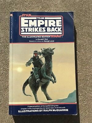 Star Wars The Empire Strikes Back Vintage 1980 Paperback Book First Edition