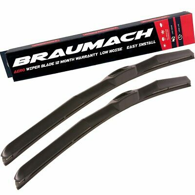 Wiper Blades Hybrid Aero for Mazda MX-5 (incl NC) CABRIOLET 2005-2014 FRONT PAIR