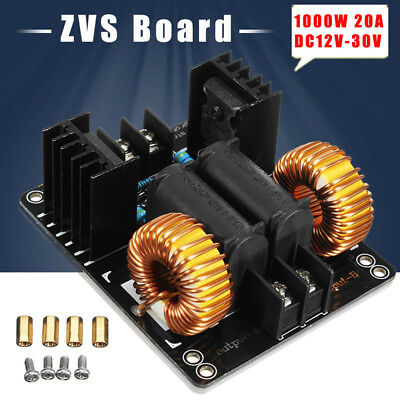 Metal Plate 1000W ZVS 20A Module Board Low Voltage DC12-48V Induction Heating C1