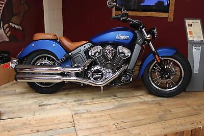 NEW 2018 Indian Scout limited edition ICON PAINT Brilliant Blue Smoke
