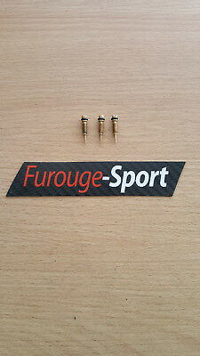 Super 5 GT Turbo - 3 vis de richesse filetage fin carburateur Solex 32 DIS