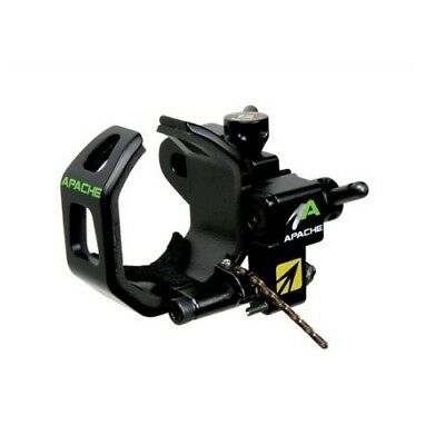 NAP Apache Black Left Hand Drop-Away Bowhunting Rest - Ships Free to USA