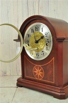 HERMLE Edwardian Style Westminster Chime Mantle Piece Clock | Good Condition