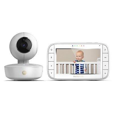 "Motorola MBP36XL Portable 5"" Video Baby Monitor with Rechargeable Camera, Remote"