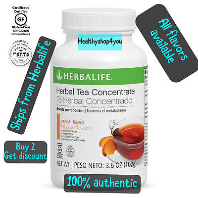 NEW Herbalife Herbal Tea Concentrate large  3.5oz (100g) all flavors available