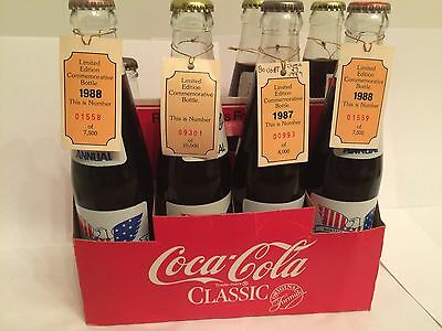 COCA COLA  MANTECA CALIF. 4TH OF JULY 1st ANNUAL LIMITED EDITION Bottles Collect
