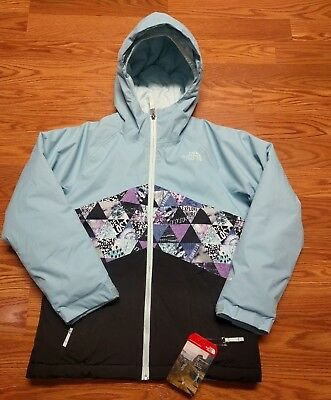 f6b446575916 NWT-THE NORTH FACE Girls Brianna Insulated Hooded Jacket Coy Pink M ...