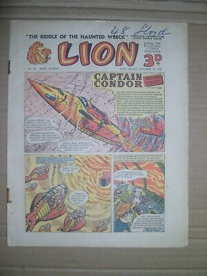 Lion issue 83 dated September 19 1953