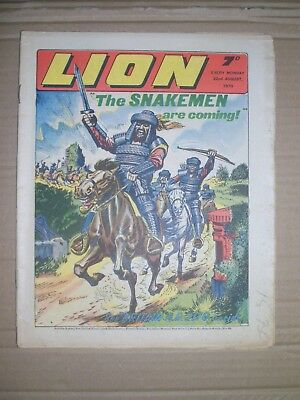 Lion issue dated Augustus 22 1970