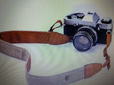 Camera Shoulder Neck Strap Vintage Belt for DSLR Camera Nikon Canon Sony Pentax