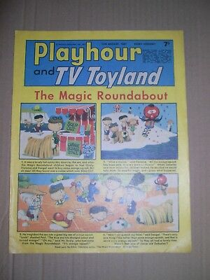 Playhour and TV Toyland issue dated August 12 1967