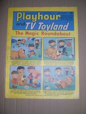 Playhour and TV Toyland issue dated October 28 1967