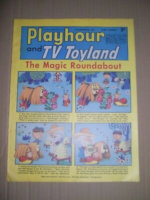 Playhour and TV Toyland issue dated November 11 1967