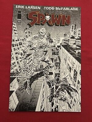 Spawn #264 Nm Black And White Never Read Wow!!! Bid Now!!!