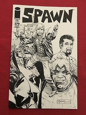 Spawn #279 Nm Black And White Never Read!!! Bid Now!!!