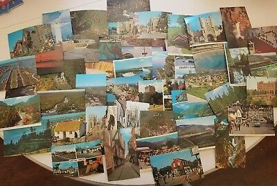 Lot of 43 Vintage Postcards USA England Ireland unused
