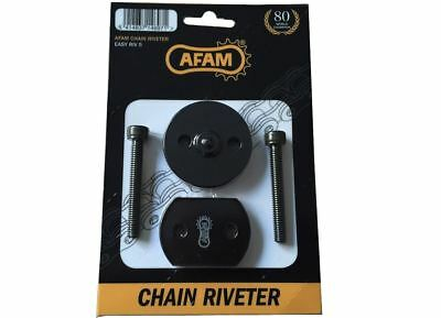 AFAM Motorcycle Bike Drive Chain Riveting Press Tool for DID, D.I.D, RK, CZ, JT