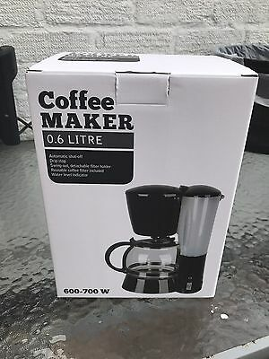 New boxed Clas Ohlson Coffee Maker.