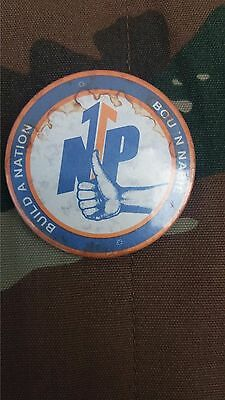 South Africa - NATIONAL PARTY ELECTORAL CAMPAIGN BADGE 1970'S-1980'S