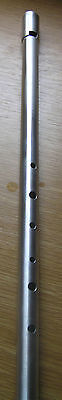 Shearwater Alto ' F' alloy low whistle - Celtic Irish - handcrafted to order