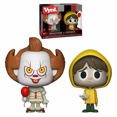 Stephen King It Movie Pennywise The Clown and Georgie 2 Collectible Vinyl Figure