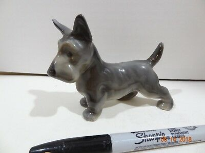 Vintage ERPHILA GERMANY Ceramic Scotty Dog Scottish Terrier Figurine Figure (13)