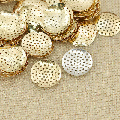 Brooch Base Pad Brooches Bouquet Beading Back Holes DIY Jewelry Tool 100pcs
