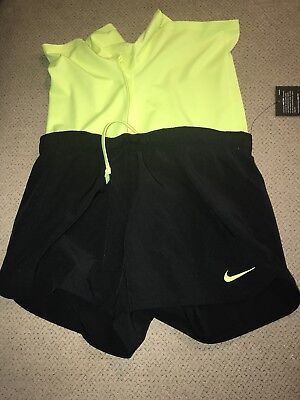 Men's Nike Running Shorts Lined Compression 2 In 1 Medium M