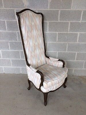 """Louie Xv French Provincial High Back Chair/porter Chair 56"""""""